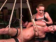 Beautiful Mistress Punishing Hot Sex Slave
