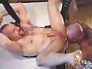 Brawny Sex Slave Enjoying A Fabulous Tongue Fuck