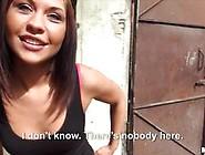 Bianca Pearl Sucks Strangers Cock For Money