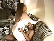 Large Titted Homemade Wife Getting Injected By A Dark Strapon