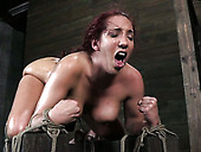 Humiliating Time For A Voluptuous Redhead Slave Chick Kelly Divi