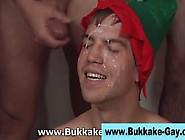 Gay Elf Gets Bukkaked