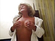 Hot 55 Yo Russian Mature Galina Play In Skype