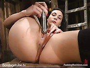 Dark Haired Wenona Gets Masturbated And Drilled All Up