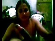 Sexy Indian Aunty Serve To Her Partner