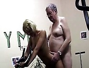 Young Blondie Gets Smashed By Her Old Personal Trainer