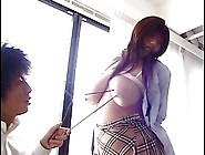 Japanese Schoolgirl Big Bobs Tits Busty Cute Girl