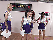 Vampire Cheerleaders With Lots Of Tattoos Are Rather Sexy