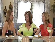 Three Mature Women Having Fun Together