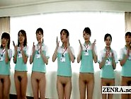 Bottomless Panty Less Japan Nurses At Old Folks Home