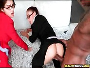 Interracial Doggystyle Foursome With Sluts