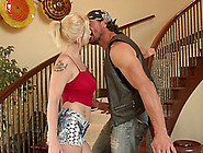 Big Natural Breasts Bouncing Around As The Blonde Gets Fucked