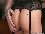 Lola Reve In Black Stockings With Dp