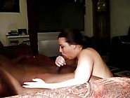 Big Tit White Woman Sucks Blk Dick