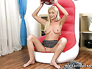 Whorish Light Haired Chick Vanessa Hell Presents Dirty Solo
