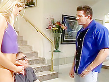 Ashley Long Bends Over For The Pussyman