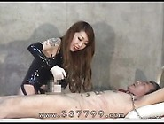 Cbt 02-Asian Mistress Sounds Her Slave's Urethral