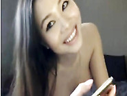 Asian Teen Sex Chat With Her Dildo
