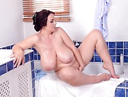 Huge Beautiful Tits Joanna Bliss Showers And Masturbates