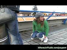 Young Amateurs Having Sex In Public