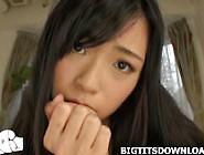 Japanese Busty Babe Posing