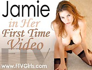 Ftv Girls - Jamie - 04Dx (Pink Vibrator - Squirting Orgasm On C