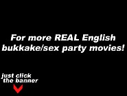 Youporn - British Amateur Debut Bukkake Cum Party (1)