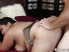 Lingeried Plumper Babe Pussyfucked Ballsdeep