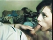 Gorgeous Brunette Teen First Time Swallowing On Camera
