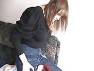 Girl Facesitting Redhead