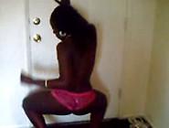 Booty Shaking Black Girl