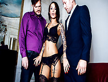 Nikita Bellucci,  Freddy Fox,  Yanick Shaft In A French Affair,  Sc