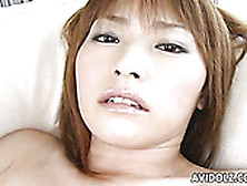 Short Haired Cutie From Japan Goes Solo To Rub Her Hairy Pussy O