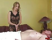 Hot Blonde Sex Bomb Jerking