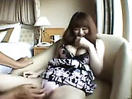 Busty Japanese Girl With Sexy Legs Has A Horny Boy Rubbing