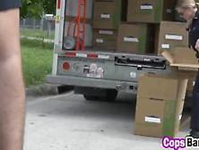 Horny Female Cops Love Riding Criminals Dicks Video