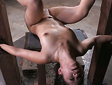 Hot And Sporty Narrow Eyed Slut Asia Zo In Her 1St Bondage Shoot