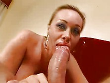 Antonella Del Lago Sucks Hard Big Cock And Fucks