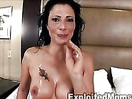 Slim Milf Gets Pounded In An Interracial Video