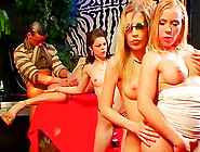 Adorable Pornstars With Fine Tits Being Hammered In A Group Perf