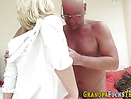 Young Teen Rides Oldy