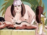Huge Hentai Girl Gives A Sensual Nude Massage