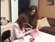 Mature Lesbian Mom Seducing Younger Girl