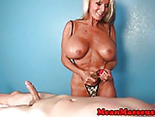 Mature masseuse sally dangelo wildly wanking cock - 3 part 7