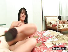 Kinky Lesbo Lookers Are Opening Up And Fist Fucking Anals