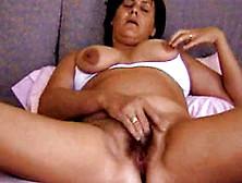 Italian Mature Hairy Pussy Masturbate