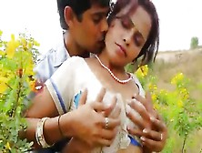 Amazing Indian Amateur Getting Dick Out In The Field