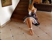 Ariel Bound & Gagged In A Beautiful Dress