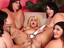 Fat Five Lesbian Orgy