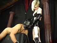 Becoming Her Fucktoy - Mistress Pegging Her Slave